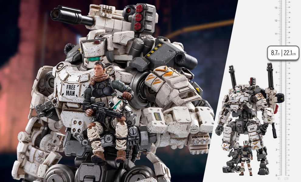 Gallery Feature Image of Steel Bone Mecha (White) Collectible Figure - Click to open image gallery
