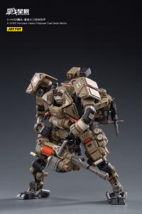 Gallery Image of X-HH02 Hurricane-Heavy Firepower Dual Mode Mecha (Sand) Collectible Figure