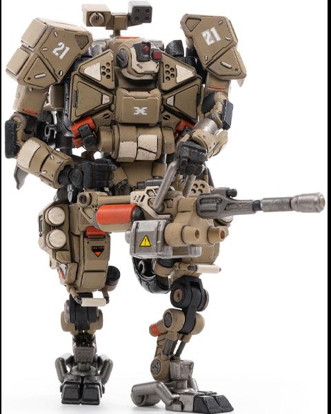 Joytoy X-HH02 Hurricane-Heavy Firepower Dual Mode Mecha (Sand) Collectible Figure