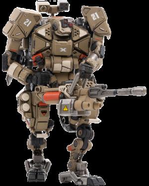 X-HH02 Hurricane-Heavy Firepower Dual Mode Mecha (Sand) Collectible Figure