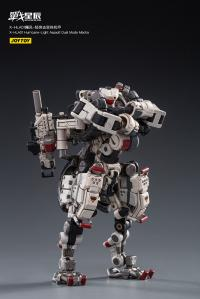 Gallery Image of X-HLA01 Hurricane-Light Assault Dual Mode Mecha (White) Collectible Figure