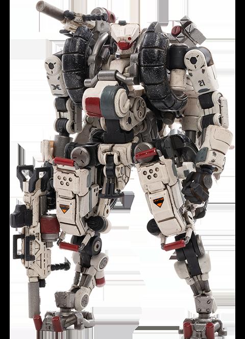 Joytoy X-HLA01 Hurricane-Light Assault Dual Mode Mecha (White) Collectible Figure