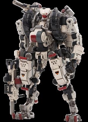 X-HLA01 Hurricane-Light Assault Dual Mode Mecha (White) Collectible Figure