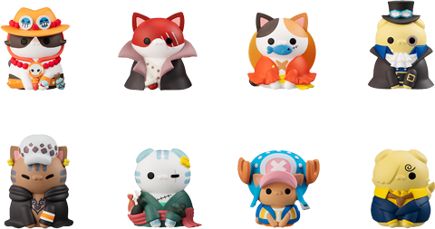 MegaHouse I'm Gonna Be King of Paw-rates Collectible Set