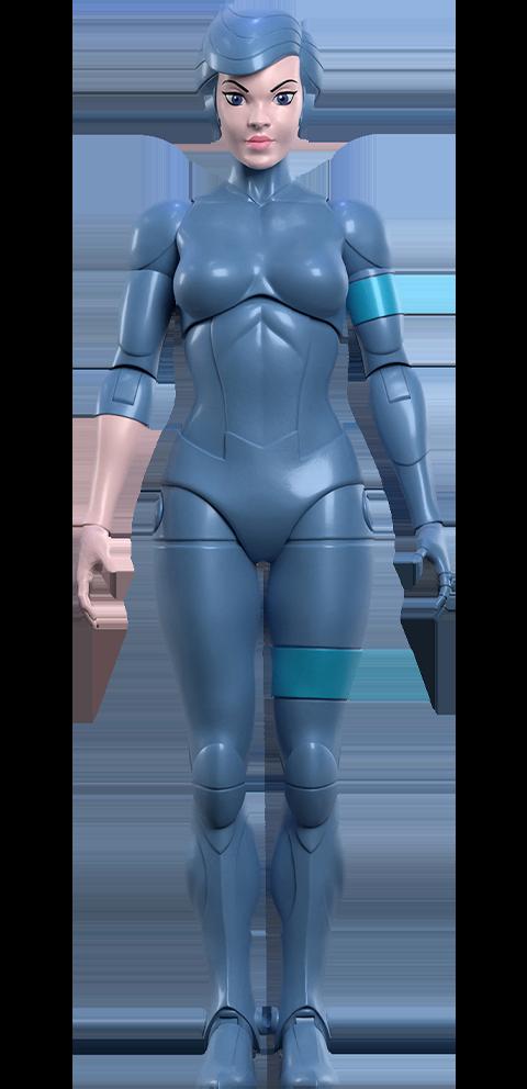 Super 7 Steelheart Action Figure