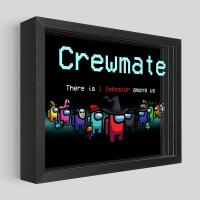 Gallery Image of Among Us: Crewmate Shadow box art