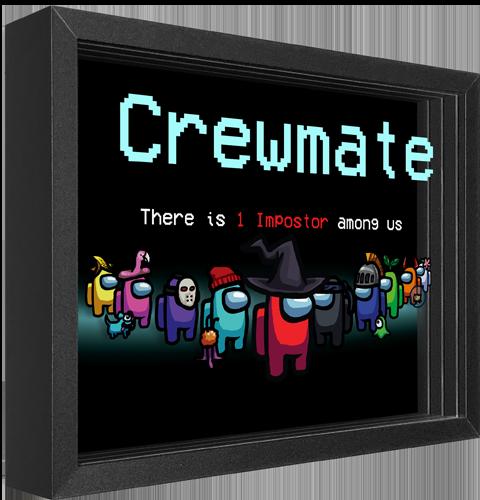 Artovision Among Us: Crewmate Shadow box art