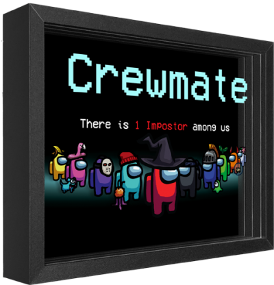 Among Us: Crewmate Shadow box art