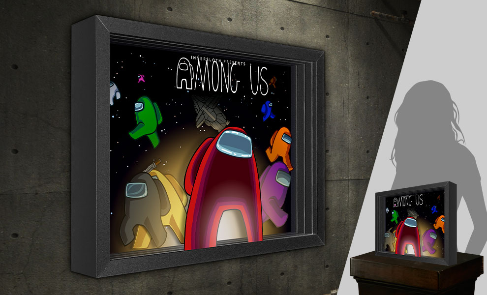 Gallery Feature Image of Among Us Shadow box art - Click to open image gallery