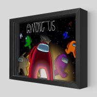 Gallery Image of Among Us Shadow box art