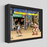 Gallery Image of Street Fighter Chun-Li vs. Zangief Shadow box art