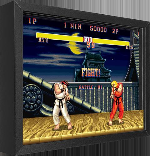 Artovision Street Fighter Ryu vs. Ken Shadow box art