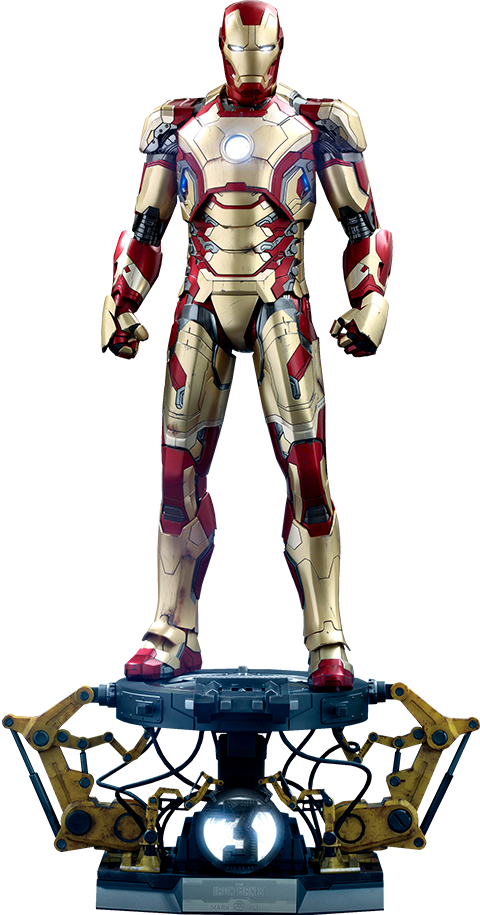 Hot Toys Iron Man Mark XLII (Deluxe Version) Quarter Scale Figure