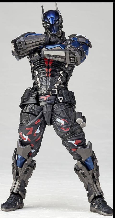 Kaiyodo Amazing Yamaguchi Arkham Knight Collectible Figure