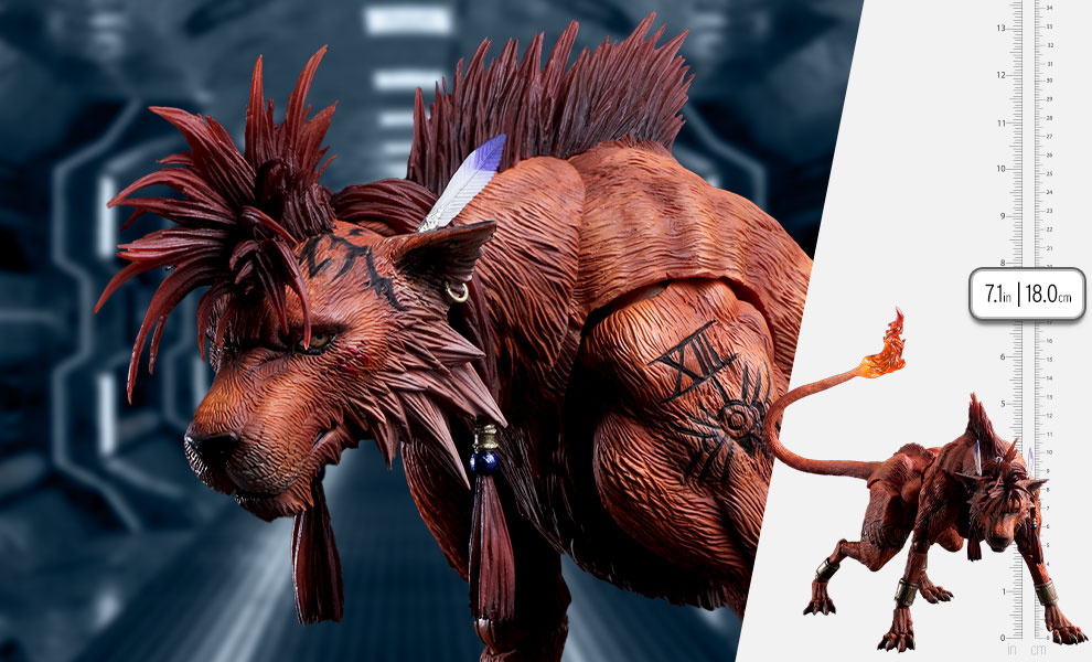 Gallery Feature Image of Red XIII Action Figure - Click to open image gallery