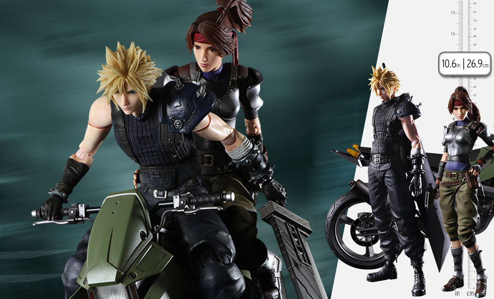 Gallery Feature Image of Jessie, Cloud, and Motorcycle Action Figure - Click to open image gallery