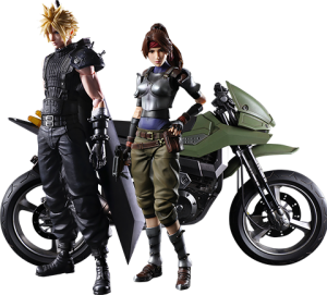 Jessie, Cloud, and Motorcycle Action Figure