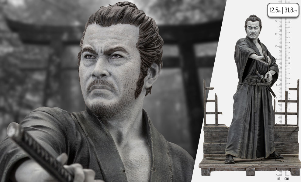 Gallery Feature Image of Toshiro Mifune Statue - Click to open image gallery