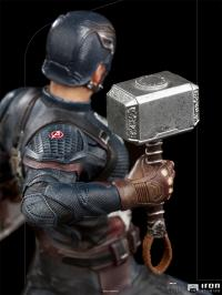 Gallery Image of Captain America Ultimate 1:10 Scale Statue