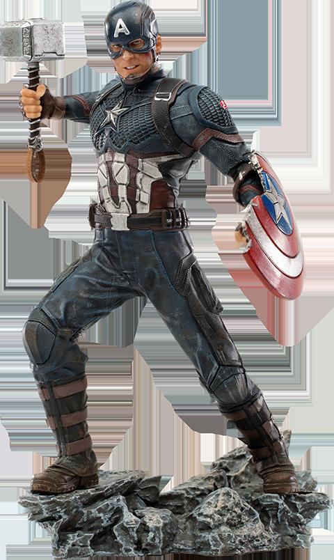 Iron Studios Captain America Ultimate 1:10 Scale Statue