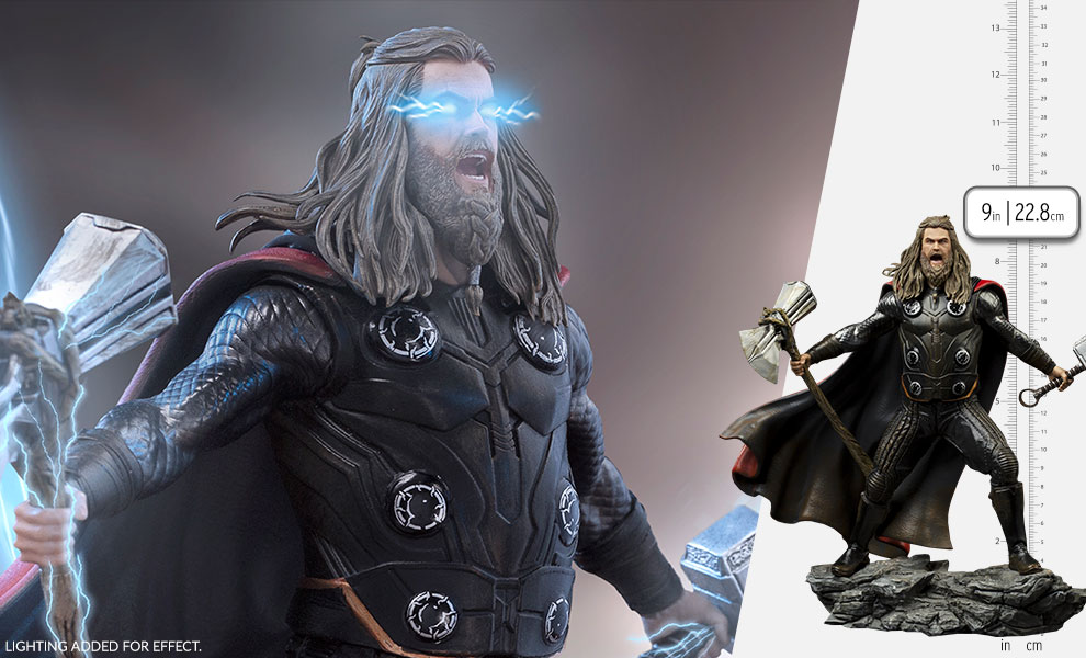 Gallery Feature Image of Thor Ultimate 1:10 Scale Statue - Click to open image gallery
