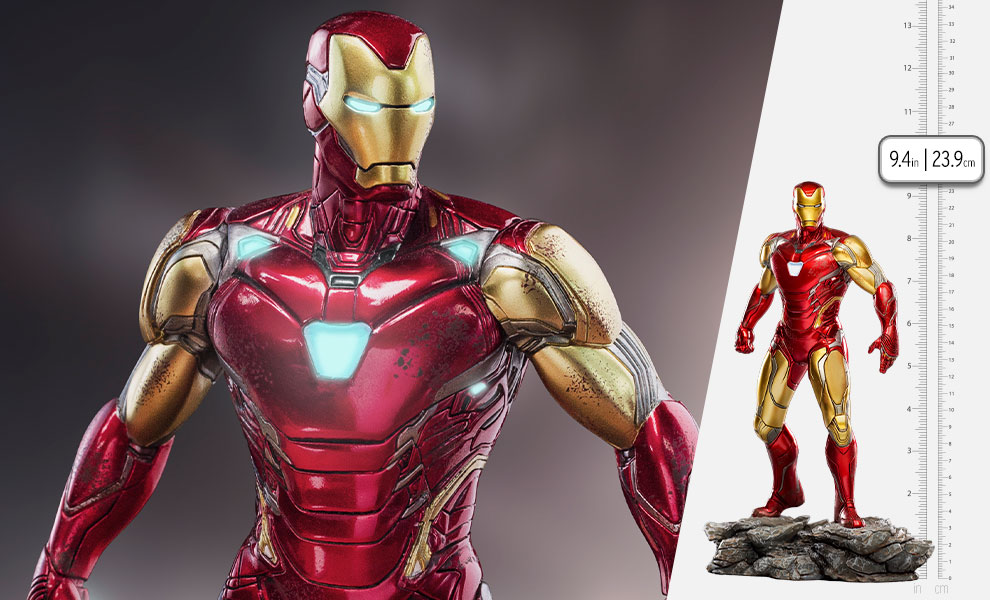 Gallery Feature Image of Iron Man Ultimate 1:10 Scale Statue - Click to open image gallery