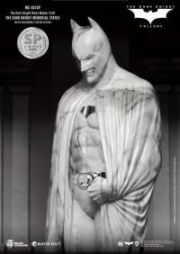 Gallery Image of The Dark Knight Memorial (White Faux Marble Texture Edition) Statue