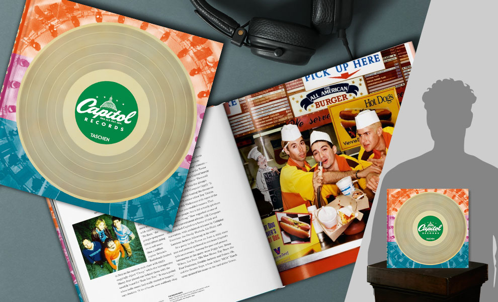 Gallery Feature Image of Capitol Records Book - Click to open image gallery