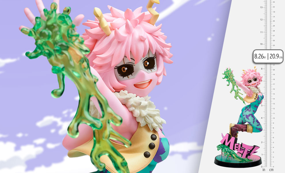 Gallery Feature Image of Mina Ashido Hero Suit Version Collectible Figure - Click to open image gallery