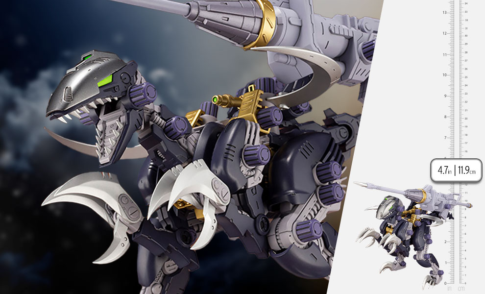 Gallery Feature Image of EZ-027 RAVEN RAPTOR Model Kit - Click to open image gallery
