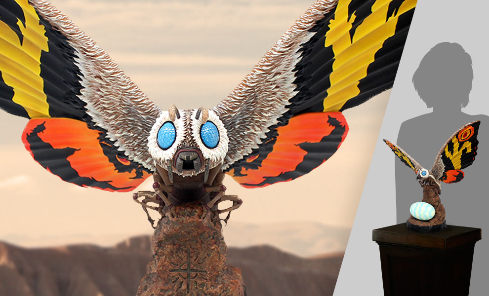 Gallery Feature Image of Mothra Statue - Click to open image gallery
