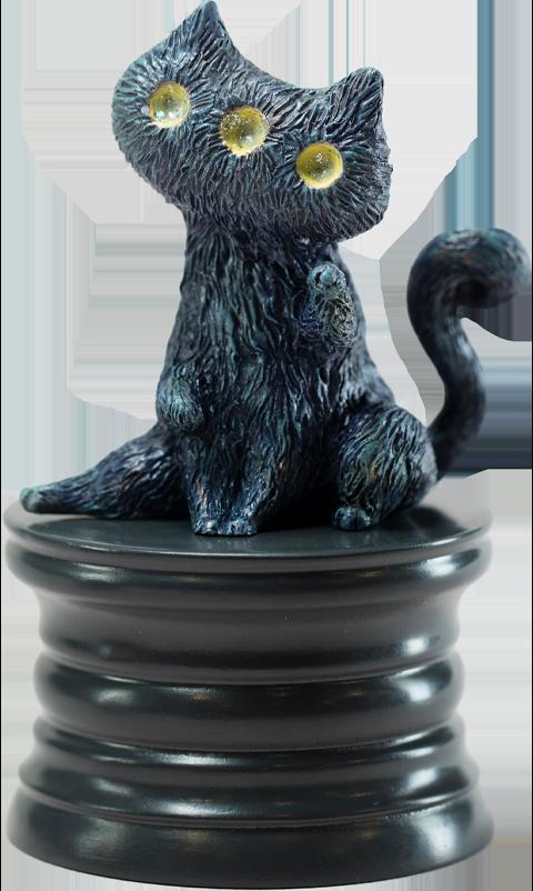 Manas SUM Fantasy Night Cat Figurine