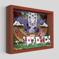 Gallery Image of Cuphead King Dice Shadow box art