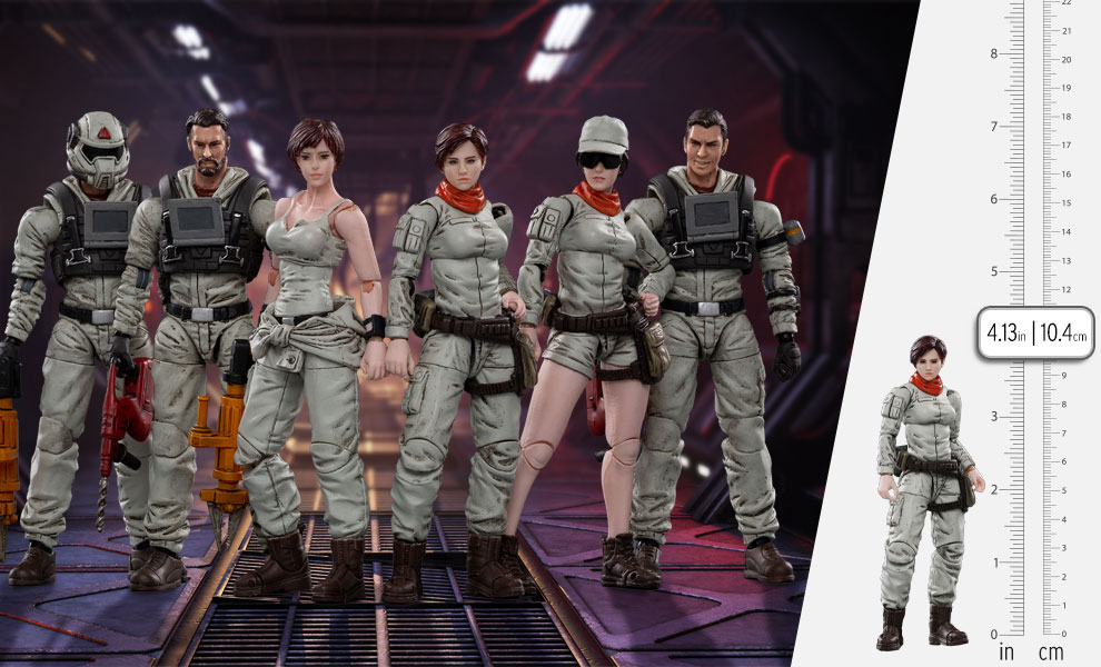 Gallery Feature Image of Mech Maintenance Team A Collectible Set - Click to open image gallery