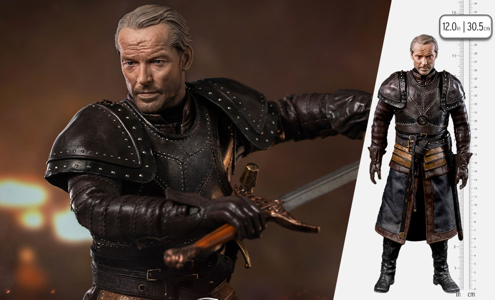 Gallery Feature Image of Ser Jorah Mormont (Season 8) Sixth Scale Figure - Click to open image gallery