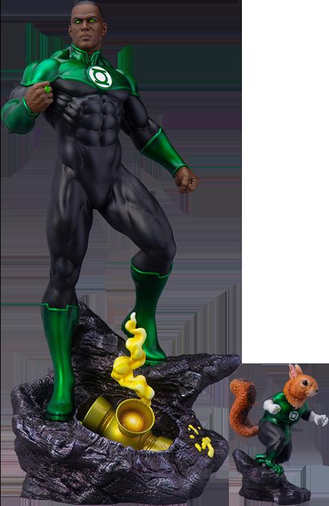 Tweeterhead John Stewart – Green Lantern Maquette