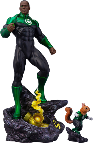 John Stewart – Green Lantern Maquette