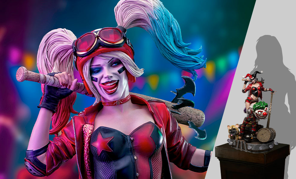 Gallery Feature Image of Harley Quinn 1:3 Scale Statue - Click to open image gallery
