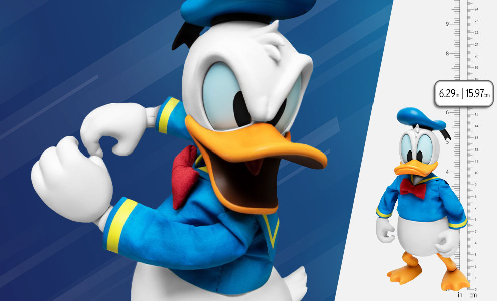 Gallery Feature Image of Disney Classic Donald Duck Action Figure - Click to open image gallery