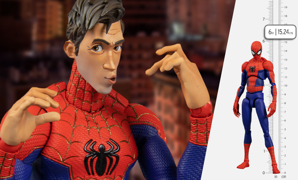 Gallery Feature Image of Spider-Man Peter B. Parker Action Figure - Click to open image gallery