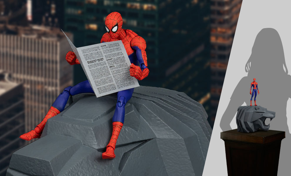 Gallery Feature Image of Spider-Man Peter B. Parker (Special Version) Action Figure - Click to open image gallery