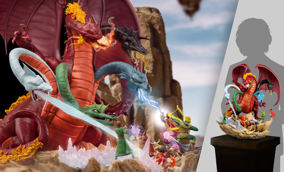 Gallery Feature Image of Tiamat Battle Diorama - Click to open image gallery