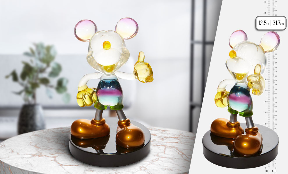 Gallery Feature Image of Rainbow Mickey Figurine - Click to open image gallery
