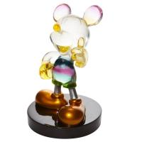 Gallery Image of Rainbow Mickey Figurine