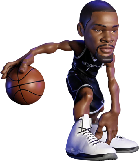 Base4 Ventures Kevin Durant SmALL-STARS Collectible Figure
