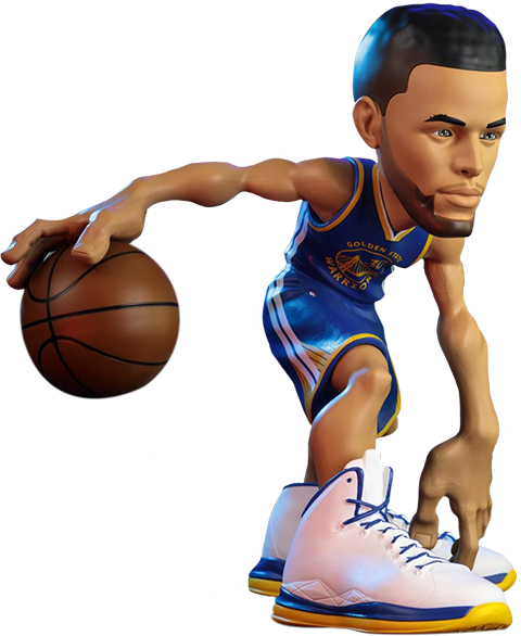 Base4 Ventures Stephen Curry SmALL-STARS Collectible Figure