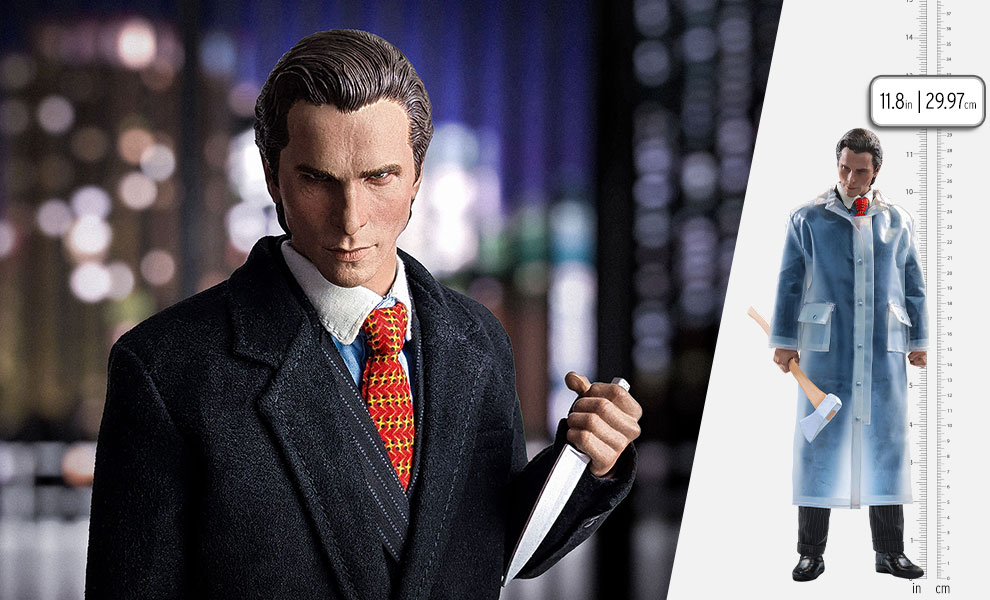 Gallery Feature Image of Patrick Bateman Sixth Scale Figure - Click to open image gallery