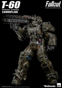 Gallery Image of T-60 Camouflage Power Armor Sixth Scale Figure