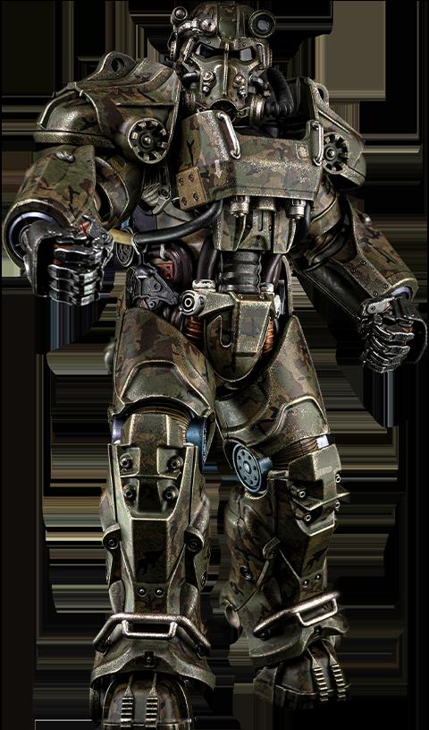 Threezero T-60 Camouflage Power Armor Sixth Scale Figure