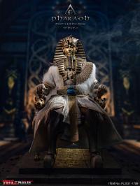 Gallery Image of Pharoah Tutankhamun (White) Sixth Scale Figure